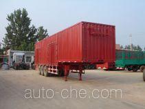 恩信事业牌HEX9331XXY型厢式运输半挂车