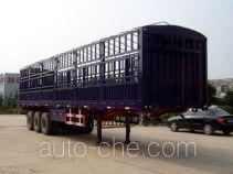 恩信事业牌HEX9340CLXY型仓栅式半挂车