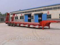 恩信事业牌HEX9360TDP型低平板半挂车
