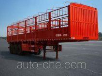 恩信事业牌HEX9380CCY型仓栅式运输半挂车