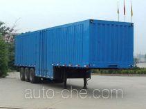 恩信事业牌HEX9380XXY型厢式运输半挂车
