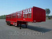 恩信事业牌HEX9400CCYE型仓栅式运输半挂车