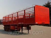 恩信事业牌HEX9402CCY型仓栅式运输半挂车