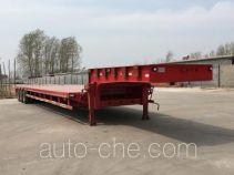 恩信事业牌HEX9402TDP型低平板半挂车
