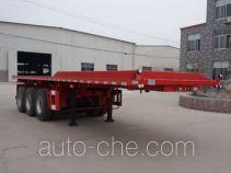 Enxin Shiye HEX9402ZZXPE flatbed dump trailer