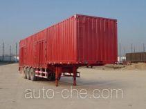 恩信事业牌HEX9404XXYE型厢式运输半挂车