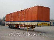 恩信事业牌HEX9406XXY型厢式运输半挂车