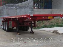 恩信事业牌HEX9406ZZXP型平板自卸半挂车