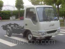 JAC HFC1030PW4T2B3DV dual-fuel truck chassis