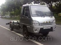 JAC HFC1030PW6T1B7D dual-fuel truck chassis