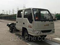 JAC HFC1030RW4T1B4DV dual-fuel truck chassis