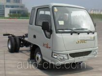 JAC HFC1042PW4K1B4 truck chassis
