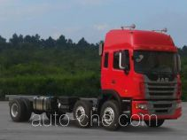 JAC HFC1251P2K2D42S2V truck chassis