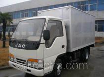 JAC Wuye HFC2310X2 low-speed cargo van truck