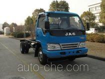 JAC HFC3076KPLZ dump truck chassis