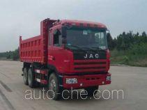 江淮牌HFC3251K2R1F型自卸汽车