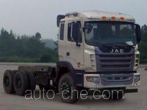 JAC HFC3251P1K6E39S3V dump truck chassis