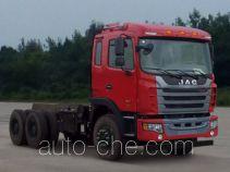 JAC HFC3251P1K6E41S3V dump truck chassis