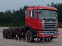 JAC HFC3251P1K6E43S3V dump truck chassis