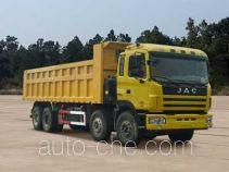江淮牌HFC3311P1K6H32F型自卸汽车