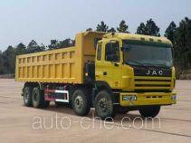 江淮牌HFC3311P1K6H35F型自卸汽车