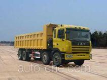 江淮牌HFC3311P1K6H44F型自卸汽车