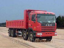 江淮牌HFC3311P1K6H48F型自卸汽车