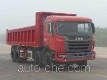 江淮牌HFC3311P2K4H38F型自卸汽车
