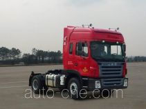 JAC HFC4181P2K4A35XF container transport tractor unit