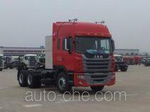 江淮牌HFC4251P1N7E38ZV型牵引汽车
