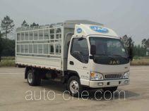 江淮牌HFC5033CCYP92K2C2型仓栅式运输车