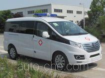 江淮牌HFC5038XJHLA4V型救护车