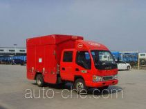 JAC HFC5040XWTK2RT mobile stage van truck