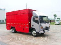 江淮牌HFC5040XWTL3K2T型舞台车