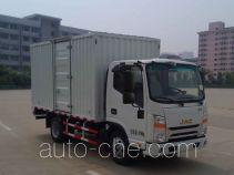 江淮牌HFC5040XXYP73K2B4V型厢式运输车