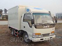 JAC HFC5040XXYP93K6B4 box van truck