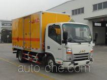 JAC HFC5040XYNKZ грузовой автомобиль для перевозки фейерверков и петард