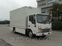江淮牌HFC5041XWTZ型舞台车