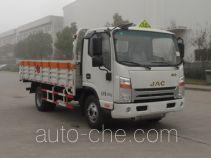 江淮牌HFC5043TQPV3Z型气瓶运输车