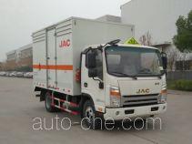 江淮牌HFC5043TQPXV3Z型气瓶运输车