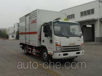 江淮牌HFC5043TQPXVZ型气瓶运输车