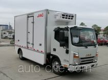 JAC electric refrigerated truck