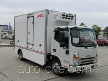 JAC HFC5061XLCP73EV2C5 электрический автофургон рефрижератор