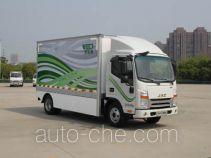 江淮牌HFC5061XXYP73EV2C5型纯电动厢式运输车