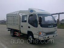 JAC HFC5045CCYR82K1C2 грузовик с решетчатым тент-каркасом