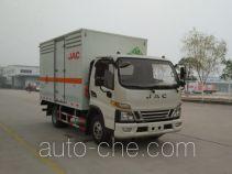 江淮牌HFC5080TQPXV3Z型气瓶运输车