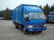 JAC HFC2043XXYP91K1C2 cross-country box van truck