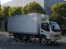 JAC HFC5081XLCP91K2C5 refrigerated truck