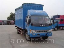 JAC HFC5120CPYP91K2D4 soft top box van truck