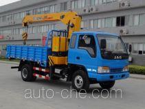 JAC HFC5121JSQZ truck mounted loader crane